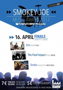 Smokey Joe Band Contest 2017 :: Finals | So, 16.04.2017 ab 19:30 Uhr