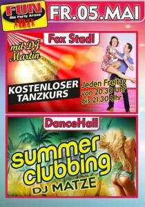 Summer Clubbing mit DJ Matze im FUN! | Fr, 05.05.2017 von 21:00 bis 03:30 Uhr