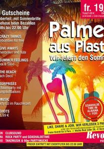 PALMEN AUS PLASTIK - Wir feiern den Sommer | Fr, 19.05.2017