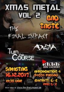 XmasMetal im clAb Vol. II (Bad Taste) | Sa, 16.12.2017 ab 19:30 Uhr
