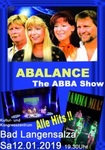 Abalance - The ABBA Show   Sa, 12.01.2019