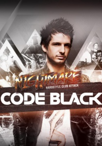 CODE BLACK presented by Nightmare hardstyle clubattack | Fr, 14.04.2017