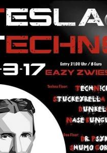 Tesla-Techno im eaZy Zwiesel   Sa, 11.03.2017 von 21:00 bis 05:00 Uhr