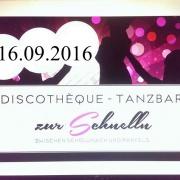 """Discothéque - Tanzbar """"Zur Schnelln"""""""