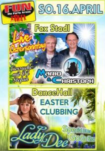 Easter Clubbing und Eiersuche am Ostersonntag im FUN! | So, 16.04.2017 von 21:00 bis 03:30 Uhr