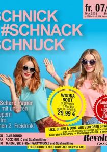 #SCHNICK #SCHNACK #SCHNUCK | Fr, 06.10.2017