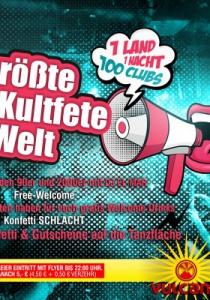 DIE GRÖßTE 2000er KULTFETE DER WELT   Mo, 02.10.2017
