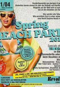 SPRING BEACH PARTY 2017 | Fr, 21.04.2017